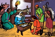 Picture 22. Jesus is Born