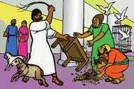 Picture 22. Jesus Drives Out Evil Men