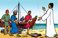 Picture 12. Jesus Appears to His Friends