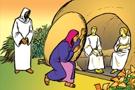 Picture 112. Jesus Appears to Mary Magdalene